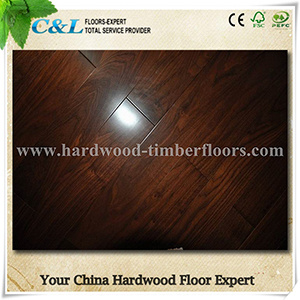Tongue and Groove American Walnut Solid Wooden Flooring pictures & photos