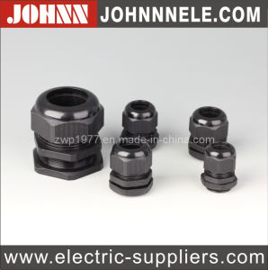 Black Waterproof Plastic Cable Gland pictures & photos