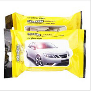 Auto Leather Car Cleaning Wet Wipes