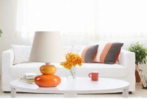 Modern Ceramic Pebble Table Lamp pictures & photos