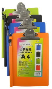 A4 Clip Board with Butterfly Clip (CB112)