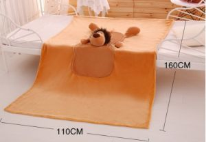 Coral Fleece 3D Animal Design Blanket and Cushion Pet Blanket Pet Cushion Multi-Functional pictures & photos
