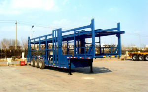 China Brand Three Axles Car Carrier Semi Trailer pictures & photos