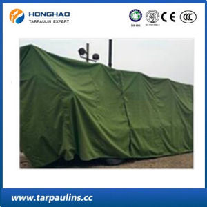Wear-Resistance Organic Silicon Laminted Tarpaulin/Tarp for Cover pictures & photos