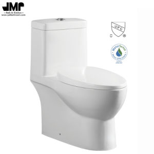 2137 Cupc Bathroom Sanitary Ware Siphonic Dual Flush One Piece Ceramic Toilet pictures & photos