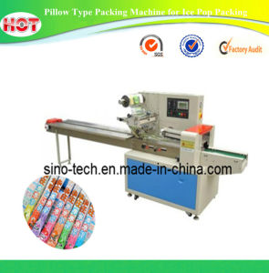 Pillow Type Packing Machine for Ice Pop Packing pictures & photos
