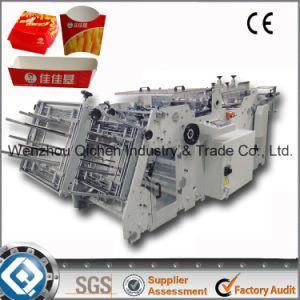 180 Box Paper Hot Dog Box Forming Machine (QC-9905)