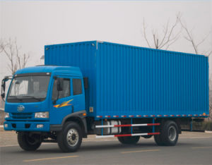 FAW 4X2 15 Ton Van Lorry Truck for Tanzania pictures & photos