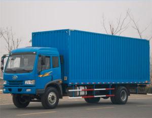 Faw 4X2 15 Ton Van Cargo Truck for Congo pictures & photos