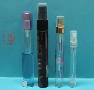 5ml 10ml 15ml 30ml Tube Glass Bottle with Sprayer (LDL-28)