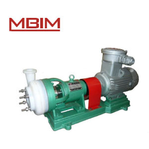 Fsb\Fsb-L Fluoroplastic Alloy Centrifugal Corrosion Pump (80FSB-55) pictures & photos