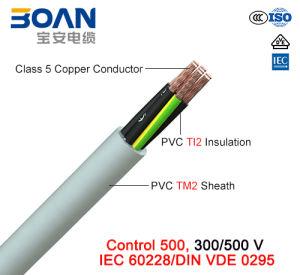 Control 500, 300/500 V, Flexible Cu/PVC/PVC Control Cable (IEC 60228/DIN VDE 0295) pictures & photos