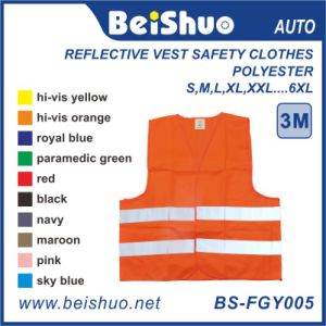 100% Polyester Reflective Safety Vest pictures & photos