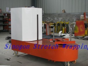 Lp600f Luggage Stretch Wrapping Machine pictures & photos