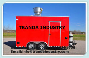 Fast Food Restaurant Catering Trailer Franch Standardice Cream Van pictures & photos