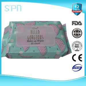 Private Label Oil Free Eye Makeup Remover Pads pictures & photos