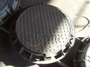 Ductile Iron En124 D400 Circular Drain Manhole Cover pictures & photos