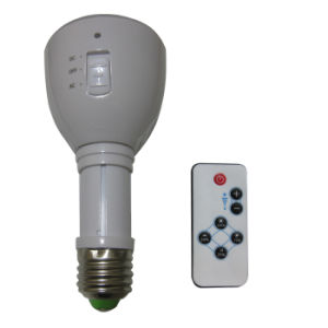 China Supplier 4W Rechargeable Emergency LED Bulb with E27/B22 Base pictures & photos