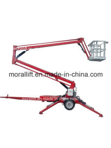 Automatic Telescopic Arm Lift/ Hydraulic Boom Lift on Sale pictures & photos