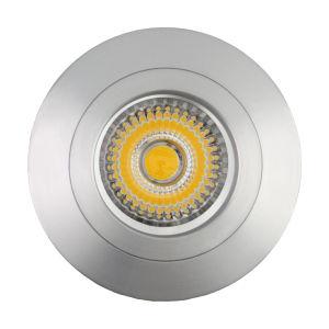 Lathe Aluminum GU10 MR16 Round Fixed Recessed LED Ceiling Light (LT2106) pictures & photos