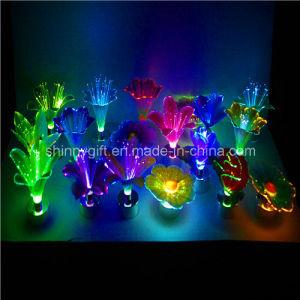 Color Changing LED Fiber Optic Flower Home Decor Light