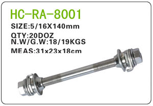 Bicycle Parts Steel Axle (RA-8001) pictures & photos