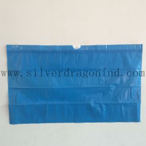 HDPE Plastic Trash Bag with Drawstring pictures & photos
