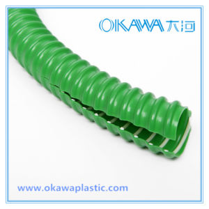 Flexible PVC Reinforced Hose for Wire Cable Protection