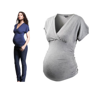 Fashion New Style Elegant Bamboo Cotton Maternity Clothes pictures & photos