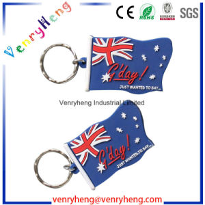Guangzhou Manufacture Promotional Customized Cartoon Keychain for Gifts pictures & photos