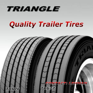 Triangle Trailer Truck Tires 11r22.5, 295/75r22.5, 11r24.5, 285/75r24.5 pictures & photos
