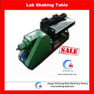 Laboratory Small Size Shaking Table for Mineral Separating Test pictures & photos