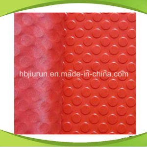 Red Anti-Slip Rubber Sheet with Round Button Pattern pictures & photos