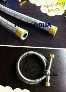 Best Quality Stainless Steel Wire Braided LPG Hose with Fittings pictures & photos
