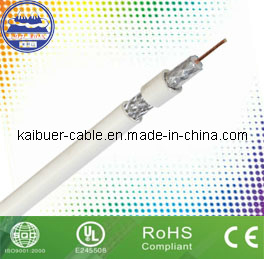 75ohm RG6 Competitive CATV/CCTV Coaxial Cable with CE pictures & photos