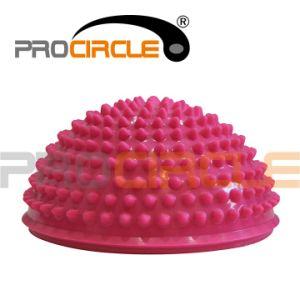 Fitness Soft Spike Balance Pod PVC Half Massage Ball (PC-MB2001) pictures & photos