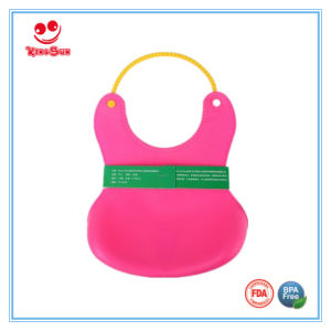 BPA Free Water-Proof Soft Baby Bib FDA Approved pictures & photos