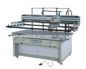 Flat Large Horizontal Silk Screen Printer Machine pictures & photos