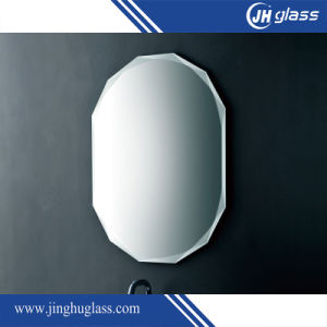 Frameless Beveled Edge Clear Mirror Glass pictures & photos