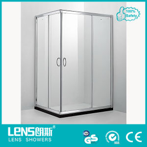 6mm Tempered Glass Square Sliding Door Shower Enclosure Moloch D42
