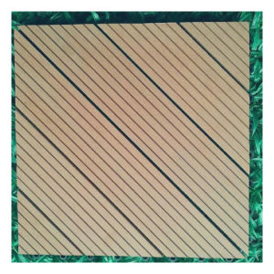 Sensu Cheap and High Quality WPC DIY Decking Tiles pictures & photos
