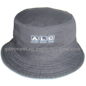 Washed Cotton Twill Embroidery Leisure Fisherman Bucket Hat (TMBH03776-1) pictures & photos