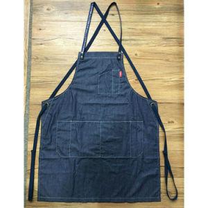 Customized Utility Blue Denim Waitress Apron for Workshop pictures & photos