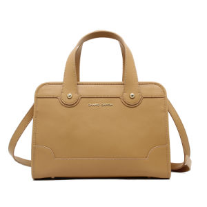 New Arrival Ladies Cow Leather Tote Business Handbag (CG8845) pictures & photos