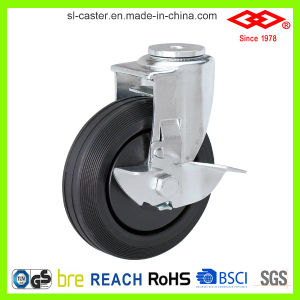 150mm Locking Trolley Castors (G109-34F150X38ZR) pictures & photos