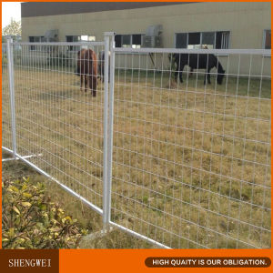 Canadian 6′x10′ Construction PVC Coated Temp Portable Fence Panels pictures & photos