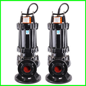 Submersible Sewage Pump of Qw Not Easy to Wear and Clogging Pipes pictures & photos