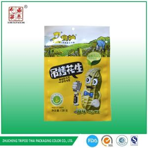 Simple Food Industrial Use and Accept Custom Order Peanut/Snack Packaging Bag