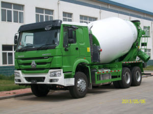 9m3 HOWO 6X4 Heavy Truck Mixer Truck (ZZ1257M3641) pictures & photos