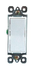 15A 120/277V Decora Rocker 3-Way Switch, Residential Grade, UL/cUL pictures & photos